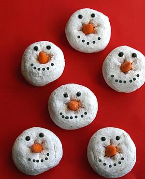 Donut Snowman source