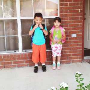First day of school. Aug 24, 2015